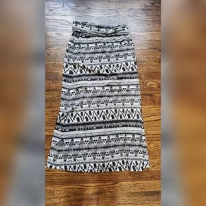 Mossimo Supply Co Tribal Maxi Skirt